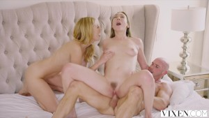 VIXEN My Passionate Threesome With A Hot Couple