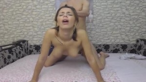 Amateur Teen Banged By Her Partner From Behind