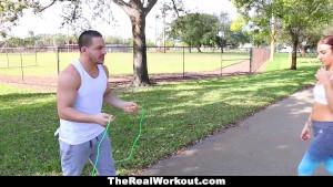 Teamskeet - Hot Fitness Model Fucked After Workout