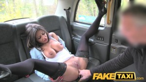 Fake Taxi Great body and nice tits brunette