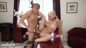 PrettyDirty Cheating Wife Eaten Out by Stepson