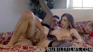 NubileFilms - Stella Cox And Her Huge Tits Bouncing
