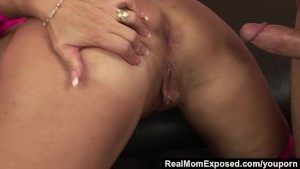 RealMomExposed - She s ravenous for a load and he s happy to deliver