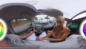 HoliVR 360VR _ Car Sex Adventure, real driving 360 VR