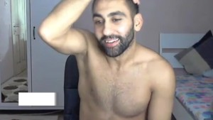 Turkish gay hunk Playing With his cock