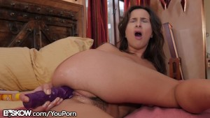 Ashley Adams Plays with Asshole and Gets Plowed by Cock