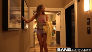Elena Koshka Amateur Teen Gets Off In Public & Gets Creampied