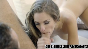 NubileFilms - Big Cock Fucks Kimmy Granger Raw