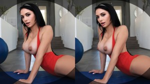 VR BANGERS-Big Tits Jackie Take A big Dick On The Massage Table