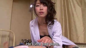 Subtitled Japanese AV legend Tsubaki Katou POV pet play