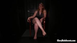 4 different gloryhole girls in the gloryhole sucking strangers
