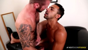 NextDoorEbony Black Hunk tops Hairy Talent Scout