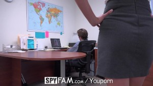 Office spyfam gay anal