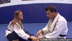 Adultmemberzone - The judo teacher also gives her great fucks