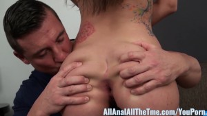 All Anal All The Time Teen Gia Paige Gets Anal Creampie!