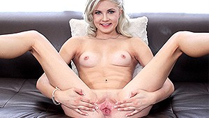 CASTINGCOUCH-X Petite Henley Hart fucked with warm dripping creampie