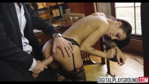 Sherlock A XXX Parody Episode 1 - Nikita Bellucci loves anal