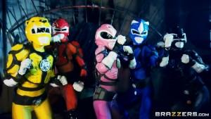 Brazzers - Power Bangers: A XXX Parody Part 5