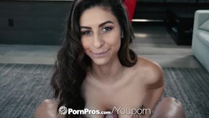 PORNPROS Stripper gram brunette Nina North fucked and facialed