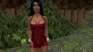 Fred Adjani rencontre une jolie femme en mini robe avec de gros seins