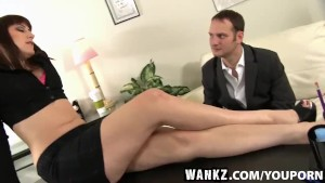 WANKZ- Curvy Female Boss Addie Juniper
