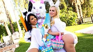 WankzVR - Easter Bunnies