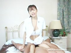 Beauty japanese nurse Hijiri...