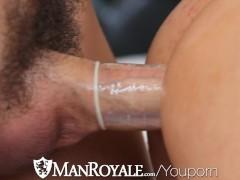 HD - ManRoyale Dick sucking...