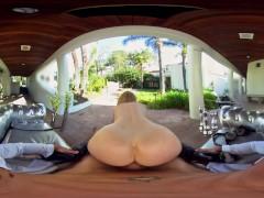 VRHush - Nina Hartley Delivers...