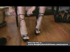 Ass worship and high heels foot fetish