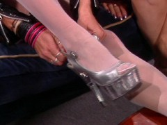 Those are so smooth and so are the panty hose