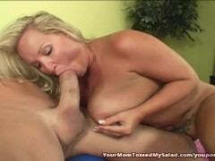 Big Titty Milf Tossing Studs Salad
