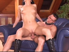 russian mistress and her boy toy (CLIP)