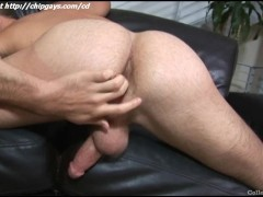Juicy man takes and jackoff dick