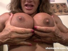 Wild Kat - SheMuscle - Crazy in the Gym