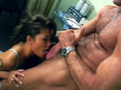 Horny Asian babe goes to the doctor for sex