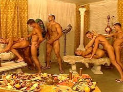 Orgy of studs in Morocco