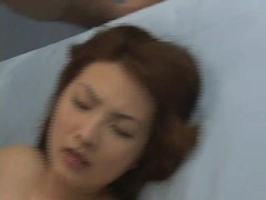 Two guys cumming into that chinese girl - Tsubo