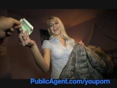 PublicAgent Stunning blonde, stunning reality sex