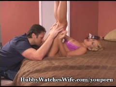 Hubby Gets Off Watching Wife