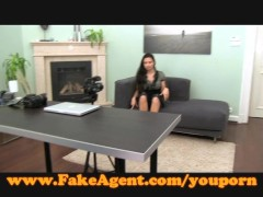 FakeAgent Creampe for hot young amateur