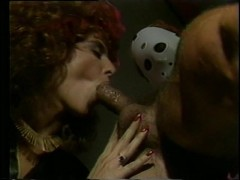 Horny chicks fuck a group of masked men - Classic X Collection