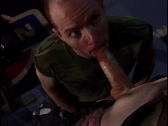 Military studs fuck in the gym - Iron Horse