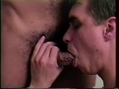 Two friends share a healthy cock - Iron Horse