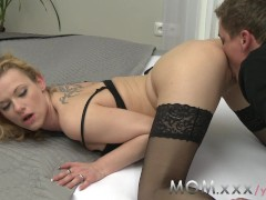 MOM Mature mistress fucking her lover