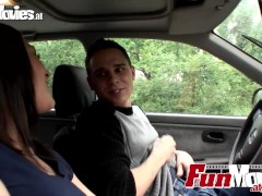 Amateur Teen Couple Go Public Car Fucking