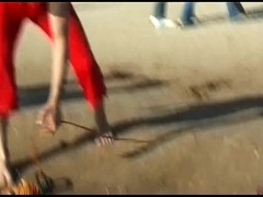 A public beA public beach can't keep these teen nudists downn nudists down