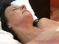 Lesbea HD Busty milf house wife cheating on husband with horny matu...