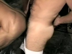 Worker and Leather Man Sex