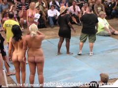 Strippers Competing for Miss Nude North America Award